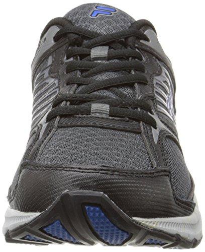 Fila Men's Interstellar 2 Running Shoe,Castlerock/Black/Prince Blue,11 M US