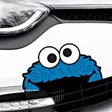 Best Bumper Stickers - COOKIE MONSTER Funny Peeper Car,Van,Bumper,Window JDM DUB Vinyl Review