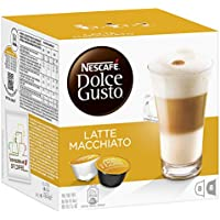 Nescaf� Dolce Gusto Latte Machiato 16 Capsules, 8 servings (Pack of 3, Total 48 Capsules/coffee pods, 24 servings)