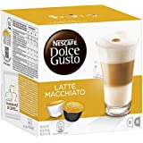 Nescafé Dolce Gusto Latte Machiato 16 Capsules (Pack of 3, Total 48 Capsules, 24 servings)