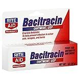 Rite Aid Pharmacy Bacitracin, Ointment, 1 oz (28 g)