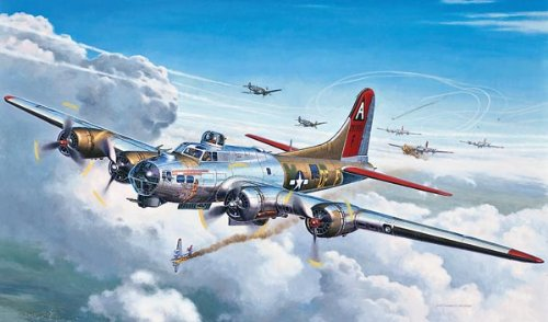 Revell 1:72 B-17G Flying Fortress (Flying Fortress Model compare prices)