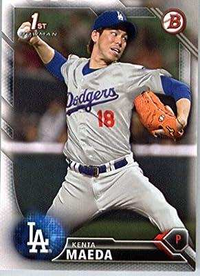 2016 Bowman Prospects #BP142 Kenta Maeda Los Angeles Dodgers Baseball Card