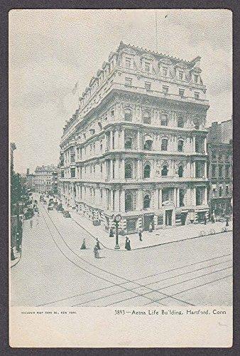aetna-life-building-hartford-ct-undivided-back-postcard-1900s