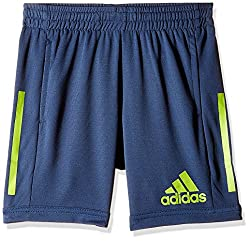 adidas Boys' Shorts (S94529176_Blue and Yellow_176)
