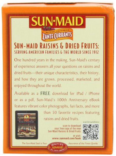 Sun Maid California Zante Currants, 10-Ounce Boxes (Pack ...