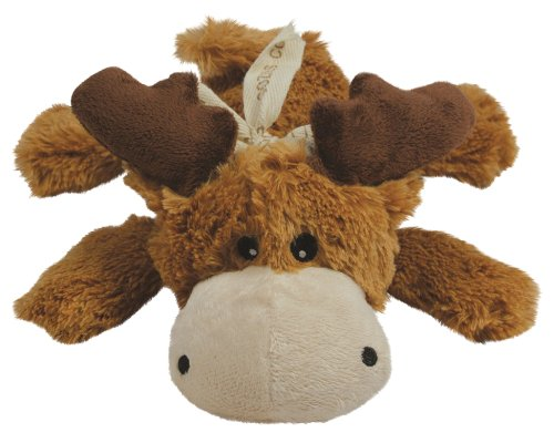 KONG Cozie Marvin the Moose, Medium Dog Toy,