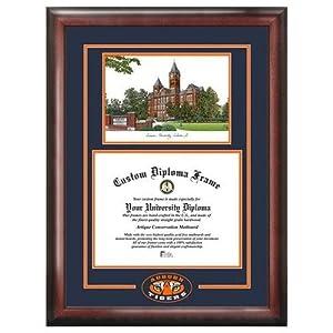 Amazon Com Auburn University Tigers Alumni Mahogany