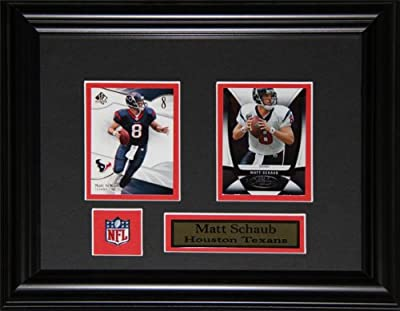 Matt Schaub Houston Texans 2 Card Frame