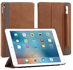 StilGut Couverture, Genuine Leather Case for Apple iPad Pro 9.7