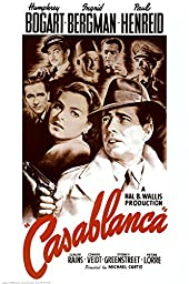 Casablanca Poster 24 x 36in