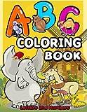 ABC Coloring Book (Jumbo Coloring Book) ( Coloring Books for Kids) (Volume 2)