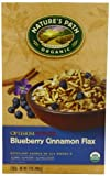 Natures Path Organic Optimum Power Breakfast Cereal, Blueberry Cinnamon Flax, 14-Ounce Boxes (Pack of 6)