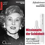 Missionarin der Schönheit. Estée Lauder, die seriöse Kosmetik und die Gratisprobe (Frauen - einfach genial) | Barbara Sichtermann,Ingo Rose