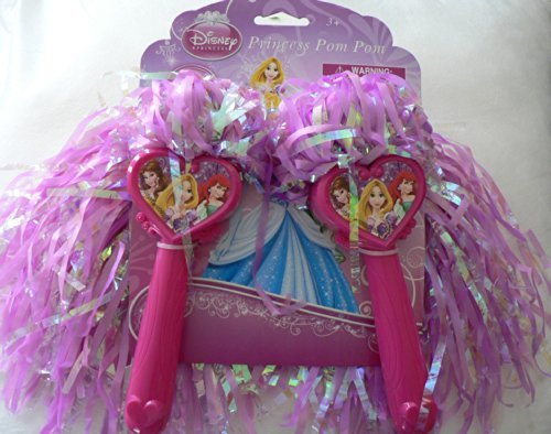 Disney Princess Pom Pom Cheerleader Ariel Rapunzel Belle - 1