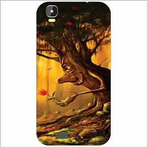 intex aqua speed Back Cover - Silicon Tree Designer Cases