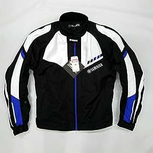 バイクジャケット 春夏 秋冬 メンズ ライダースジャケット レーシングジャケット ツーリング ナイロンジャケット メッシュ プロテクター装備 耐磨 防風 防水 バイク用品 バイクウエア オールシーズン オシャレ XL bike jacket 大きいサイズ  ブルー