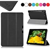 Amazon Kindle Fire HDX 7(2013) Case Cover, Fyy® Ultra Slim Magnetic Smart Cover Case for Kindle Fire HDX 7(2013) Black (With Auto Wake/Sleep Feature)