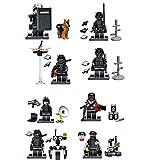 特殊部隊 テロリスト ドローン 最新鋭装備 8体+犬1匹 武器セット レゴカスタムキット LEGOカスタムパーツ アーミー
