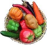 食品サンプル マカロン 9色 セット フルーツ スライス 盛り合わせ (野菜盛り合わせ)