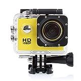 Crenova 防水スポーツカメラ アクションカメラ 1200万画素 1080P CS710 120度広角レンズ ダイビング用ビデオDVR (銀)