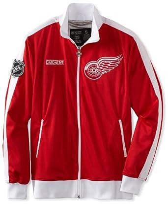 NHL Detroit Red Wings Lord Stanley Track Jacket by Reebok