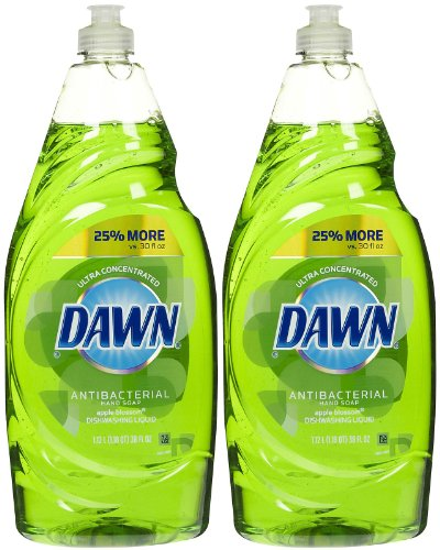 Dawn Ultra Antibacterial Dishwashing Liquid - 34.2 oz - Apple Blossom - 2 pk (Apple Dishwashing Detergent compare prices)