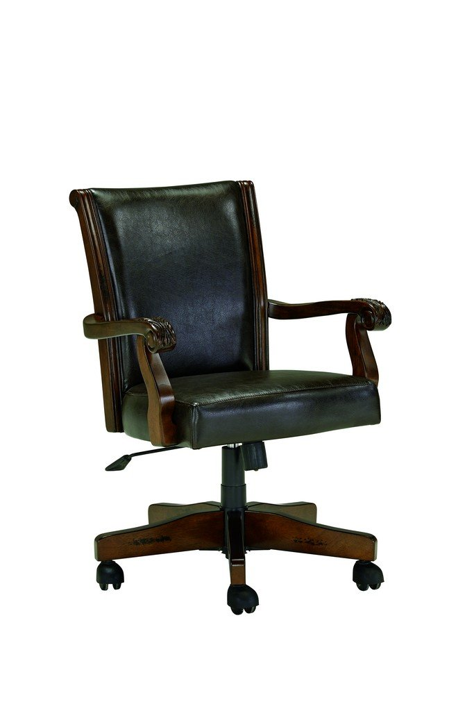 Signature Design by Ashley Alymere Home Office Swivel Desk Chair, Vintage Brown 0