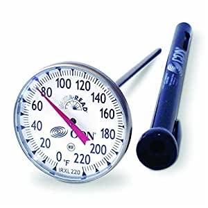 Amazon.com: CDN IRXL220 Insta-Read Large Dial Cooking Thermometer ...