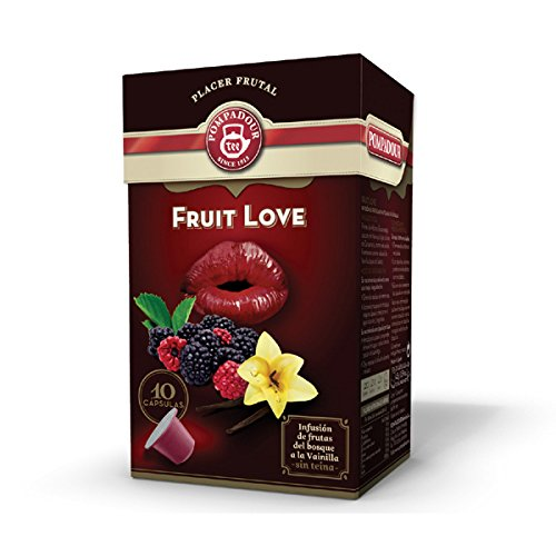 Nespresso Compatible TEA Capsules - Fruit Love - 10 caps / box - 40 caps (TOTAL) (Coconut Nespresso compare prices)
