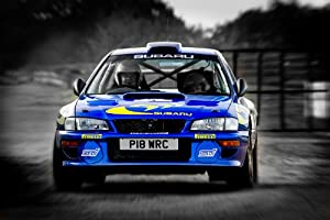 subaru impreza 22b rally car poster print a3 size kitchen home. Black Bedroom Furniture Sets. Home Design Ideas