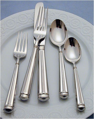 Buy WATERFORD FLATWARE GRAFTON STREET 5 PIECE FLATWARE PLACE SETTINGS