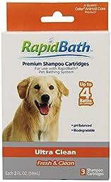 HydroSurge Rapid Bath Ultra Cleaning Animal Shampoo Cartridges, 3/pack