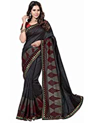 ASHIKA RAWSILK SAREE COLLECTIONS-Black-SUT2034-VN-Art Silk-Black-SUT2034-VN-Art Silk