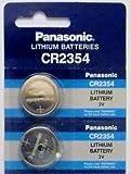 [ Pack of 2 ] Panasonic CR2354 2354 CR 2354 3V lithium BATTERIES
