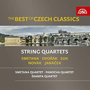 The Best Of Czech Classics - String Quartets - Music by Smetana; Dvorak; Suk; Novak; Janacek [3CD set]
