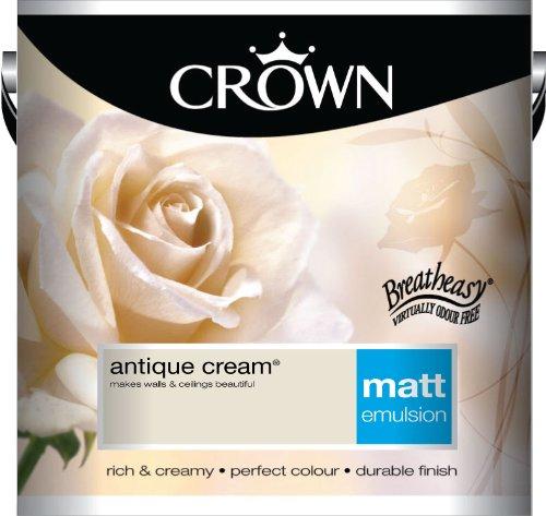 Crown Matt 2.5L Emulsion - Antique Cream