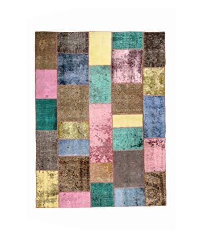 QURAMA Handgeknüpfter tapijt veelkleurige 237 x 162 cm