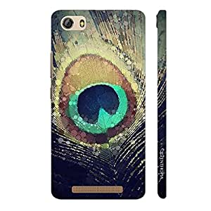 Enthopia Designer Hardshell Case PEACOCK HEAVEN Back Cover for Gionee Marathon M5 Lite