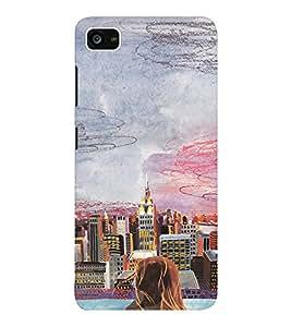 EPICCASE City View Mobile Back Case Cover For Lenovo ZUK Z2 (Designer Case)