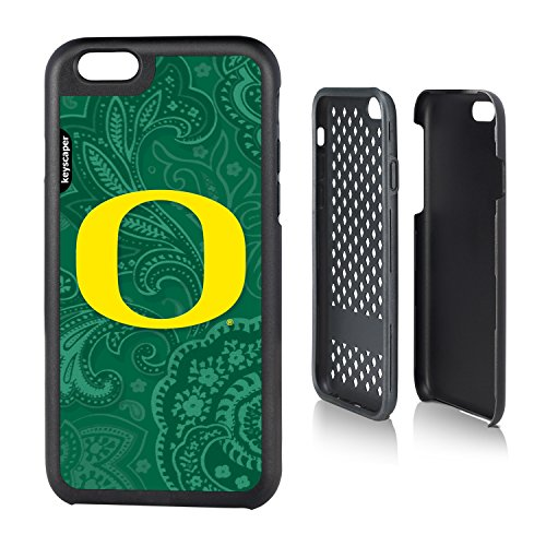 Oregon Ducks Iphone 6 Rugged Case Paisley Ncaa
