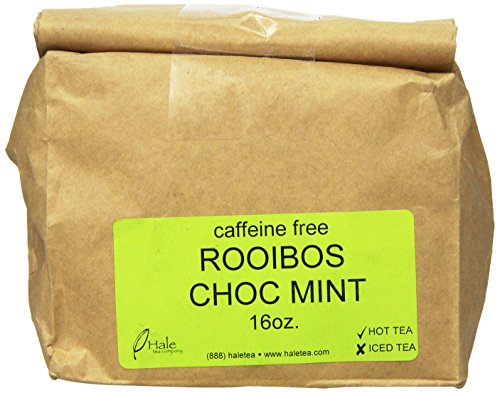 Hale Tea Rooibos, Chocolate Mint, 16-Ounce