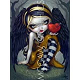 """Heart of Nails by Jasmine Becket-Griffith 12""""x9"""" Art Print Poster by Bruce McGaw"""