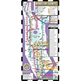 Streetwise Manhattan Bus Subway Map - Laminated Subway Map of New York City