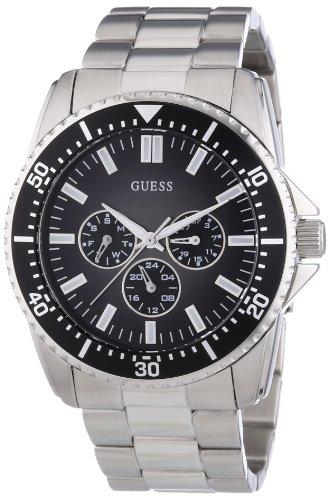 Guess Herren-Armbanduhr XL Mens Sport Analog Quarz Edelstahl W10245G4