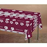 Creative Converting Texas A and M Aggies Plastic Banquet Table Cover at Amazon.com