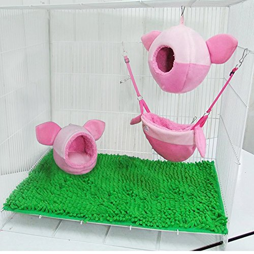3 piece KPS Sugar Glider Cage Set Pig-let Pattern (Go Figure Dried Fruit compare prices)