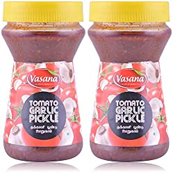 Vasana Tomato Garlic Pickle - Pack of 2 - 300 gms