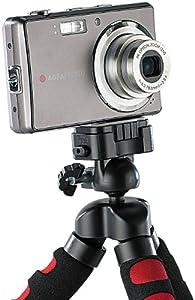 Somikon Ultraflexibles, superbiegsames Dreibein-Kamerastativ, groß
