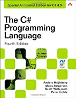 C# Programming Language (Covering C# 4.0), The (4th Edition) (Microsoft .NET Development Series)